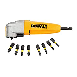 DeWalt DEWDT71517T Right Angle Torsion Drill Attachment, Yellow