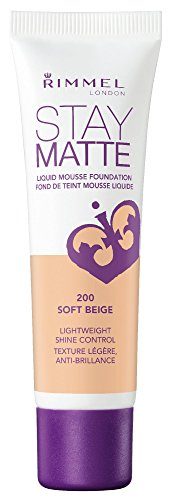 RIMMEL LONDON Stay Matte Liquid Mousse Foundation - Soft Beige  available at amazon for Rs.649
