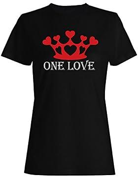 Una novedad divertida del amor camiseta de las mujeres -b15f