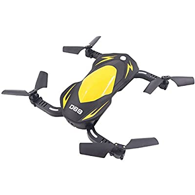 POBO Foldable with 2MP HD Camera VR Helicopter 2.4GHz 6-Axis Gyro 4CH Light RTF PO-69