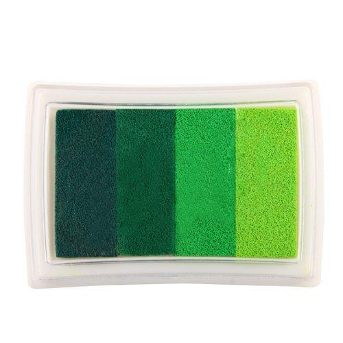 sonline-almohadilla-tinta-para-sello-tampon-color-verde-gradiente-scrapbooking