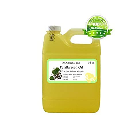 Perilla Seed Oil Oil Pure Cold Pressed Organic 32 Oz / 1 Quart