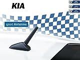AM/FM KFZ-Auto-Tuning-Kurzstab-Sport-Dach-Ersatz-Antenne für KIA M5+M6 Gewinde