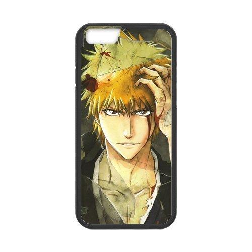 Stylish Bleach Design phone Case, Bleach Customized Cover Case for iPhone 6(Blanc/Noir)