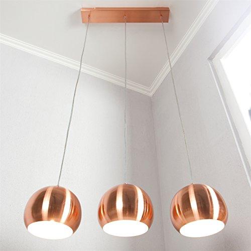 Hängeleuchte 3 Kugelförmige Lampenschirme - 118,00 €