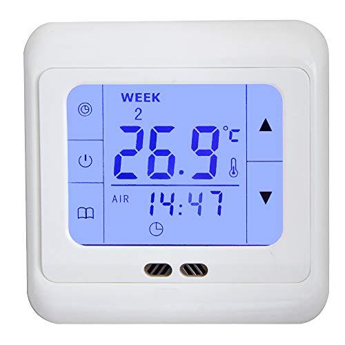 Mi-Heat Digital Thermostat-Regler H3 + Touchscreen Unterputz Temperatur-Regler