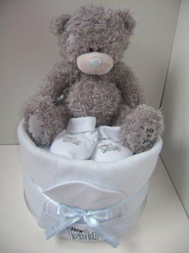 Bébé garçon remplir profonde 1étages de gâteau de couches ME-TO-YOU Tatty Teddy