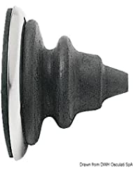 Ghiera passacavi inox con soffietto Dutral nero English: SS ring nut with black Dutral bellow