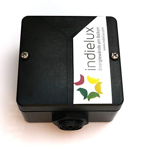 indielux Solar-Geräte Wandsteckdose Wieland (RST20i3) Aufputz schwarz