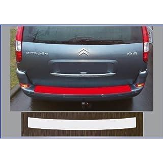 passgenau für Citroen C8, 2002-2012; Lackschutzfolie Ladekantenschutz transparent