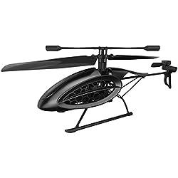 SilverLit Helicóptero RC Phoenix futurista de 4 Canales de E / Gyro de Control R fácil con luz LED