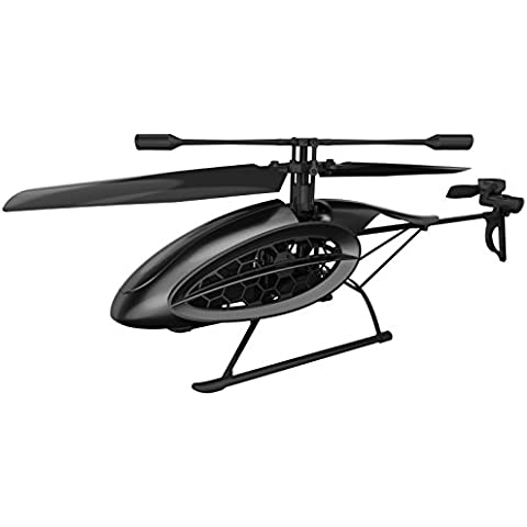 Helicóptero Silverlit RC Phoenix futurista de 4 canales de E / Gyro de control R fácil con luz LED