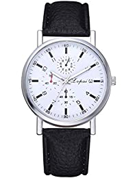 FCGV Reloj de Cuarzo Lvpai Negocio Reloj de Banda de Cuarzo Relojes  precisos duraderos de Moda 23a9d0b085e4
