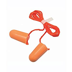 3M 1110 Corded Foam Disposable Ear Plugs