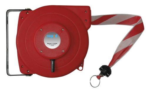 automatic-cable-reel-white-with-red-ribbon-weight-45-kg-design-electric-electrical-barrier-chain-bar