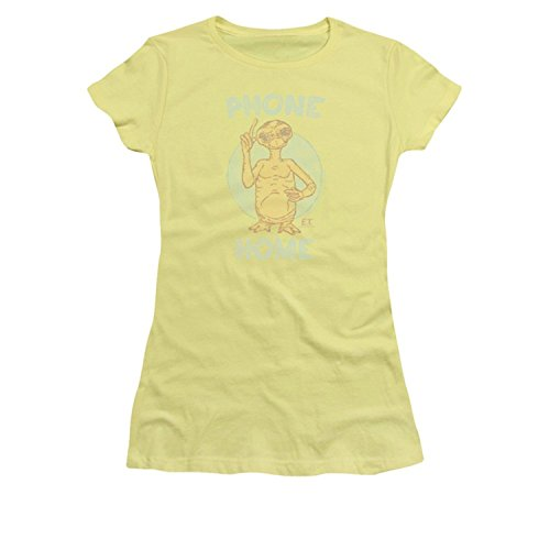 Banana Juniors T-shirt (E.T. Phone Home Juniors Banana T-Shirt(XX-Large))