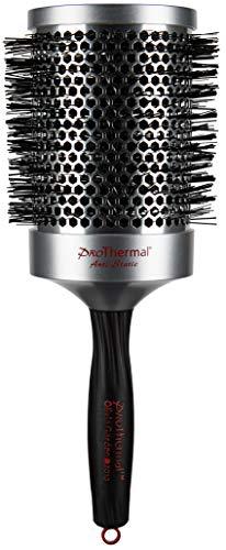 Olivia Garden Rund-Haar-Bürste Pro Thermal T83, für schnelles und schonendes Föhnen und Glätten langer Haare, antistatische Rundbürste mit wärmespeicherndem Aluminium-Körper, 83/105 mm Durchmesser - Thermal-haar-produkte