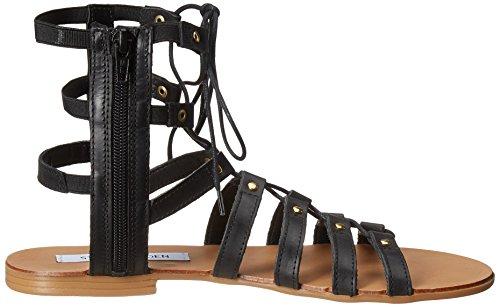 Steve Madden sandalo Sparra nero Black