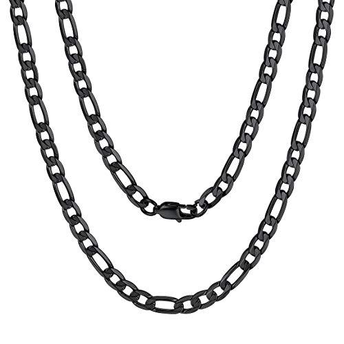 ChainsPro 925 Sterlingsilber Damen-Halskette - Weizen-Kette - 6 mm Breite - Verschiedene Längen: 22
