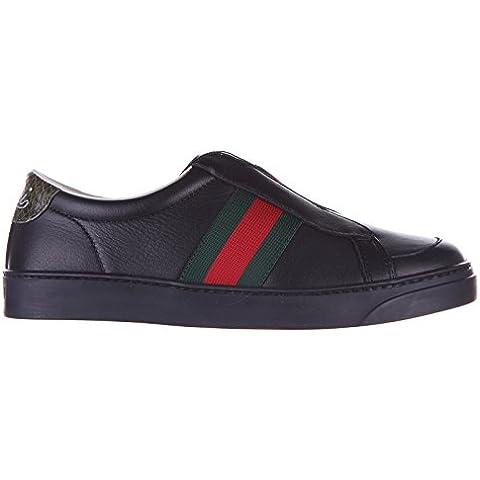 Gucci scarpe sneakers bambino pelle nuove
