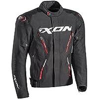 Ixon – Chaqueta de moto para hombre MISTRAL talla negro rojo, ...