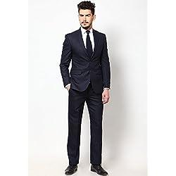 Raymond Men's Suit Unstiched Material (1234 _Blue _3 Metre)