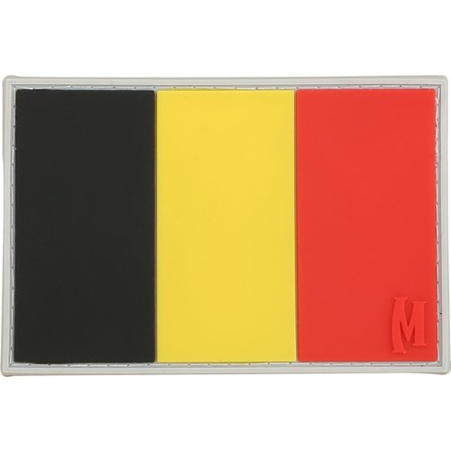 Maxpedition Belgio Flag (Completo Colore) Morale (Belgio Flag Patch)