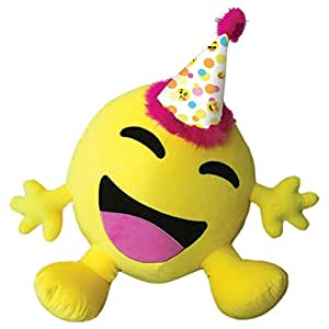 Iscream Bestie Super Emoji Happy Birthday Microbead Pillow Friend