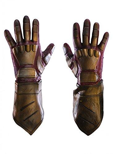Watchmen Nite Owl Handschuhe aus Latex (Nite Owl Kostüm)