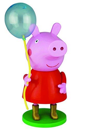 Air-Val Peppa Pig / Wutz / Geschenk-Set 3D Figur mit Ballon plus Duschgel 300 ml - für Kinder, 1 Stück