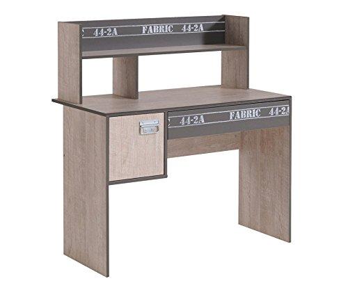 Parisot Schreibtisch Fabric 8 Esche-Grau-Loft -
