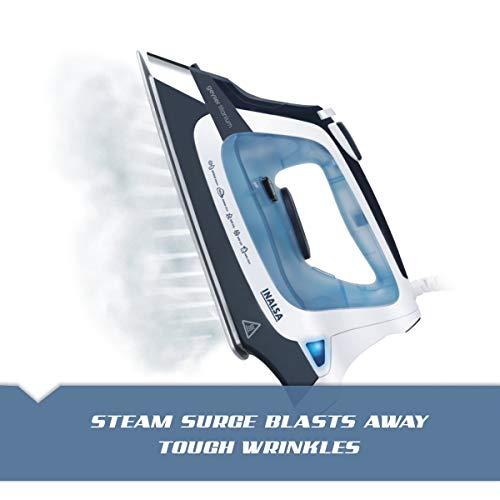 Inalsa Geyser Titanium 2000-Watt Steam Iron with 2 year Warranty (Multicolor)