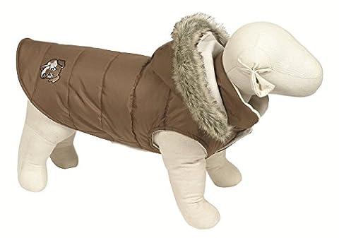 Doggy Things Doudoune pour chien taille XXL (Marron)