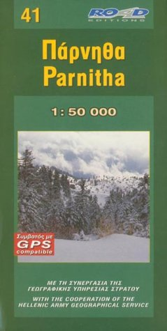 Mont parnitha (41) (Maps of Greek mountains) por Michael Howe