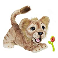 Disney The Lion King Mighty Roar Simba Interactive Plush Toy, Brought To Life By Furreal, 100+ Sound-and-Motion combinations, Ages 4 and up