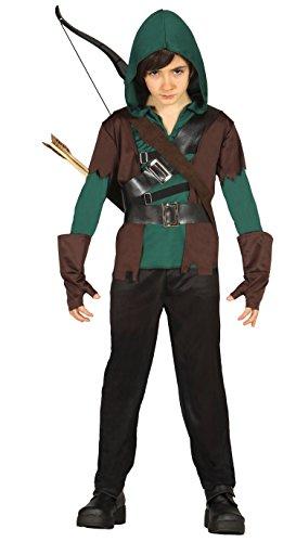 Robin Zubehör Kostüm - Guirca-Kostüm Bogenschütze, Größe 10-12Jahre (85706.0)