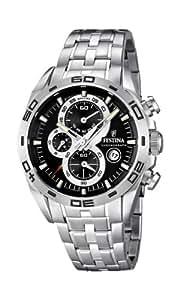 Festina Herren-Armbanduhr XL Sport Chronograph Quarz Edelstahl F16654/3