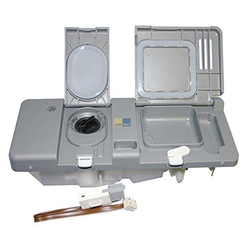 Spülmittel Dosierkombination Reinigungmittelgeber komplett Spülmaschine wie Electrolux AEG 407135813