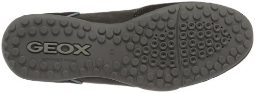 Geox Uomo Snake A, Sneakers Basses Homme Noir (Blackc9999)