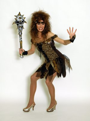 Jungle Girl Costume. Taille: 36-38, avec des manchettes