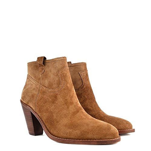 Damen Ash Russet Aus Boots Wildleder Ivana Schuhe qH4qAY