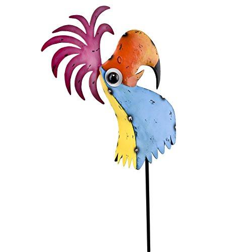 Vogel Fancy Jardín Conector Deko Diseño Metal Multicolor, metal, multicolor, 150x36x36cm
