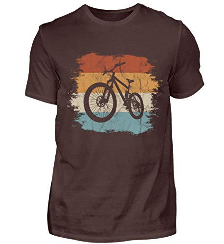 Shirtee Retro MTB Moutainbike Regalo para ciclistas...