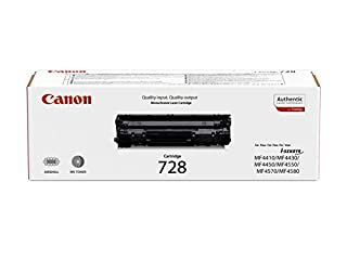 Canon cartucho 728 tóner original negro impresoras láser i-SENSYS MF4410, MF4430, MF4450, MF4550d, MF4570dn,MF4580dn, MF4730, MF4750, MF4780w, MF4870dn, MF4890dwi-SENSYS Fax-L150, Fax-L170, Fax-L410 (B0042RUBYW) | Amazon price tracker / tracking, Amazon price history charts, Amazon price watches, Amazon price drop alerts