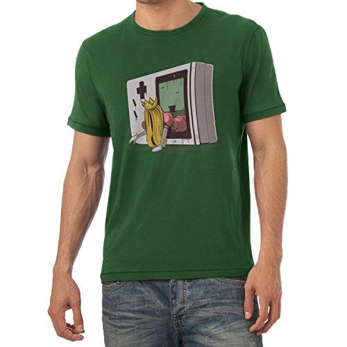 TEXLAB - The Princess - Herren T-Shirt Flaschengrün