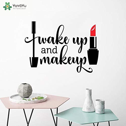 Nkfrjz Wall Decal Girls and Makeup Sticker Mascara