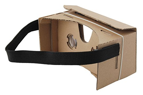 Iso Trade VR Goggle Cardboard DIY 3D Virtual Reality Brille für alle Betriebssystem #2166