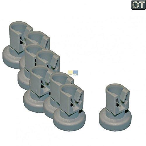 AEG Electrolux 8x Korbrolle Korbrollen für Oberkorb Spülmaschine von Juno, Zanussi, Privileg, Progress, Quelle - 50286967000