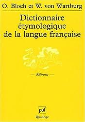 Dictionnaire étymologique de la langue française
