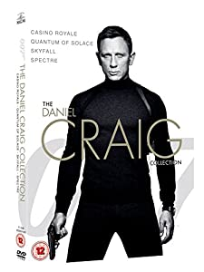James Bond - The Daniel Craig Collection 4-Pack [DVD]